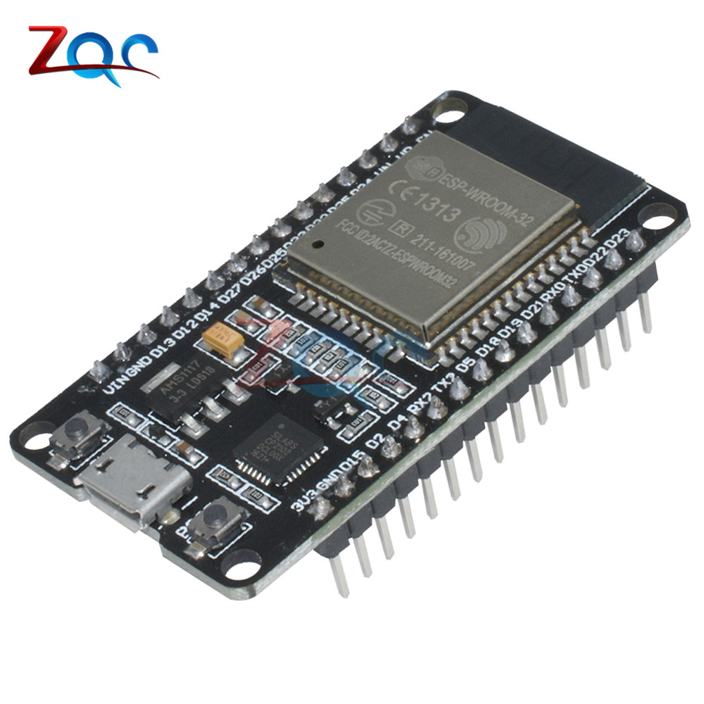 Official DOIT ESP32 Development Board WiFi+Bluetooth Ultra-Low Power Consumption Dual Core ESP-32 ESP-32S ESP 32 Similar ESP8266 doit esp 32s esp wroom 32 esp32 esp 32 bluetooth wifi dual core cpu module with low power consumption mcu esp 32