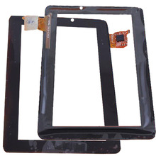 RLGVQDX New For  Acer Iconia Tab A110 7 Touch Screen Digitizer Sensor Glass Panel Tablet PC Replacement Parts Black new touch screen for 7 tesla neon color 7 0 3g tablet touch panel digitizer glass sensor replacement free shippin