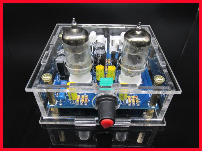 TIANCOOLKEI 6J1 tube preamp amplifier board Pre-amp Headphone amp 6J1 valve preamp bile buffer diy kits