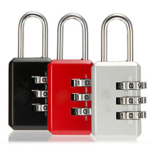 3 Digit Dial Combination Suitcase Luggage Metal Code Password Lock Padlock K88