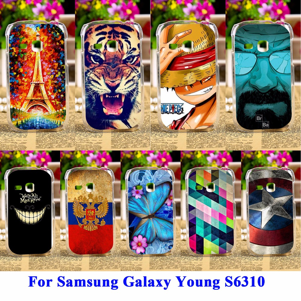 Akabeila Durable Mobile Phone Shell For Samsung Galaxy Young S6310 New S6312 Gt S6310n Cases Covers Skin Back Hood In Fitted From