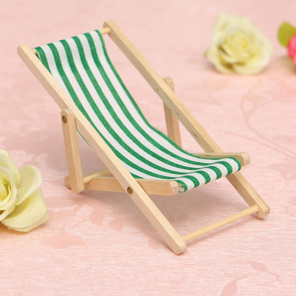 NEW Mini Toy Stylish Miniature 1/12 Scale Dollhouse Lounge Chair Safe and non-toxic Dollhouses Toy Accessory gifts for Girls