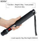 Portable Professional photographic tripod for camera with 6 Section Photography monopod stick for dslr photograph camera