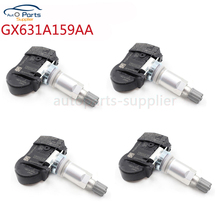 4 pcs/lot GX631A159AA GX631-A159A Car TPMS Tire Pressure Sensor Tyre Monitor 433MHZ For Land Rover Jaguar