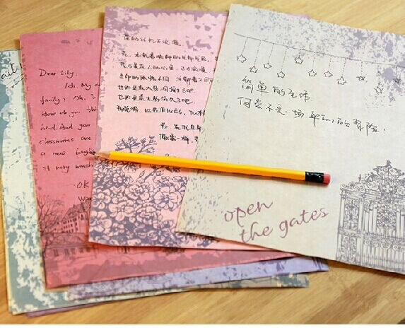 Wholesale new Retro Letter Paper and Envelope Set for Seasons ...