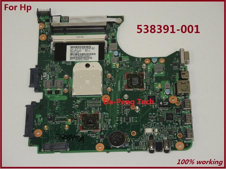 Prix pour Livraison Gratuite 538391-001 pour HP compaq 515 615 CQ515 CQ615 ordinateur portable carte mère 100% complet testé OK