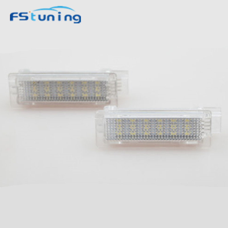 FStuning LED Car courtesy step door light For BMW F20 F30 Error Free led interior light car led door light canbus for BMW F20 защитные аксессуары car pakistan bmw alpina