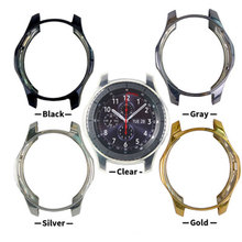New Case For Samsung Galaxy Watch 46mm 42mm/ Gear S3 frontier smart watch accessories plating TPU Protective Cover frame bumper
