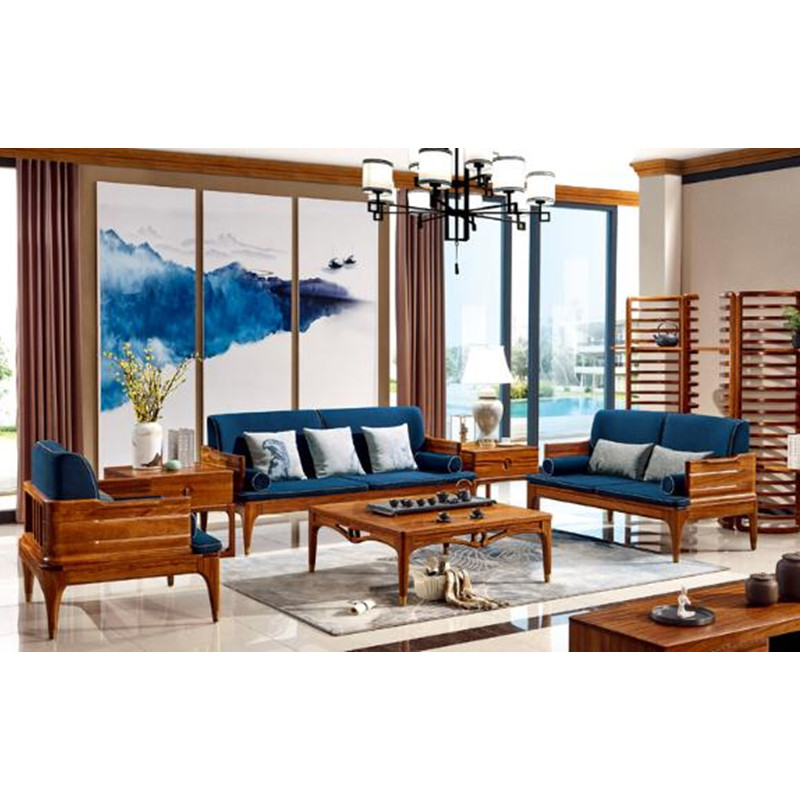 Us 39988 68 Wood Lounge Sofa Set Living Room Furniture Modern Chinese Wooden Love Seat Design Sofas China Chair Divano 2019 In