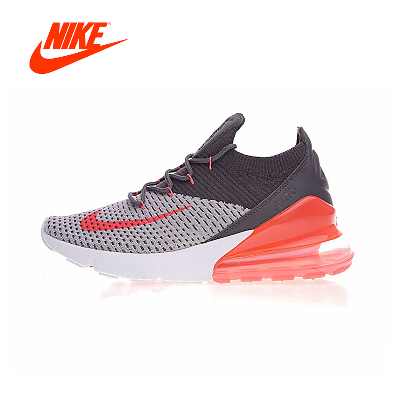 Original New Arrival Authentic Nike Air Max 270 Flyknit Women's Running Shoes Sport Outdoor Sneakers Good Quality AO1023-202 цена
