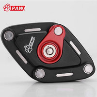 PAW 2018 New Foldable Bike Lock With 3 Keys Strong Security Anti theft Bicycle Lock Alloy Mount Bracket Mountain Road Bike Lock