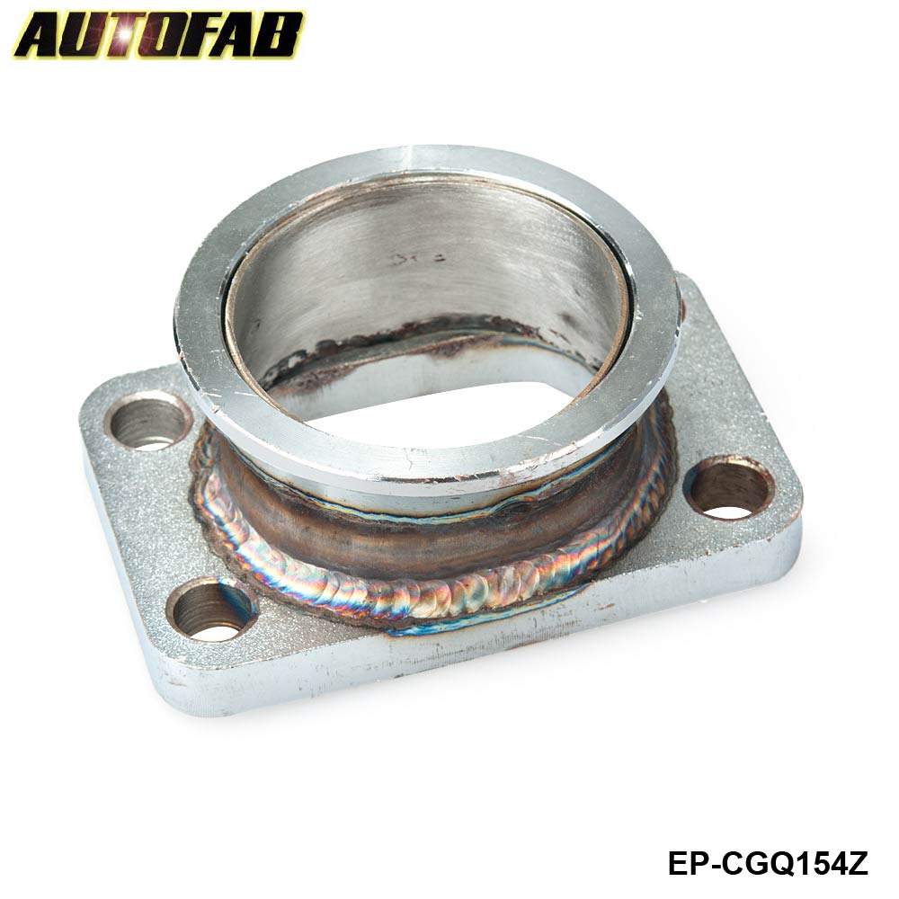 AUTOFAB 2.5''V Band Adapter Flange For T3 4 Bolt Turbo ...