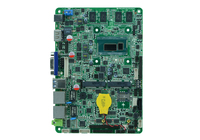 Celeron 2980U /1.6G 4 inch HD playback motherboards/ USB3.0 LVDS embedded motherboards for advertising with 6*COM/8*USB/1*VGA