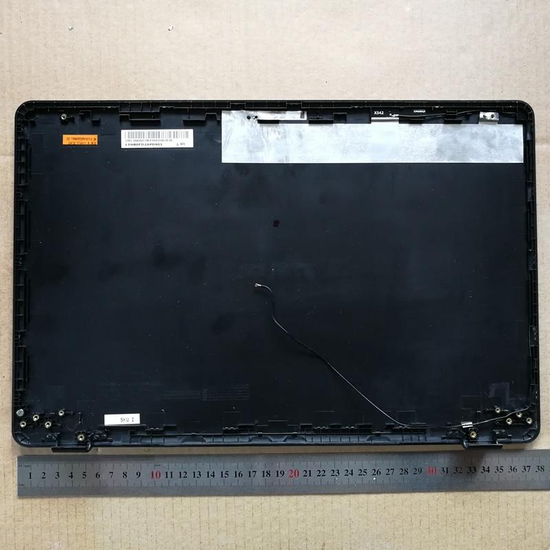 Cor cinza Novo laptop lcd top tampa de volta caso capa para o ASUS 13NB0FD2AP0401 X542 X542UR X542UQR X542UN X542UQ