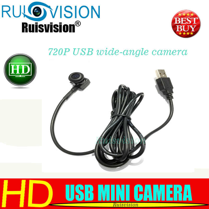 HD720P/1MP USB 2.0 PC Webcam Camera Wide Angle with 1.8mm lens Mini USB CCTV Camera Computer PC Laptop Mini Webcam free shipping