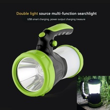 USB Rechargeable Flashlight charging super bright multi-function camping light portable LED searchlight multi function flashlight usb charging mini portable self defense led flashlight with cigarette lighter home car emergency tool