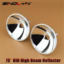 Sinolyn Headlight Reflector 7S Auto Spotlight Xenon High Beam D2S/D2H/H7 HID Lamps Light Bulbs For Car Lights Accessories Tuning