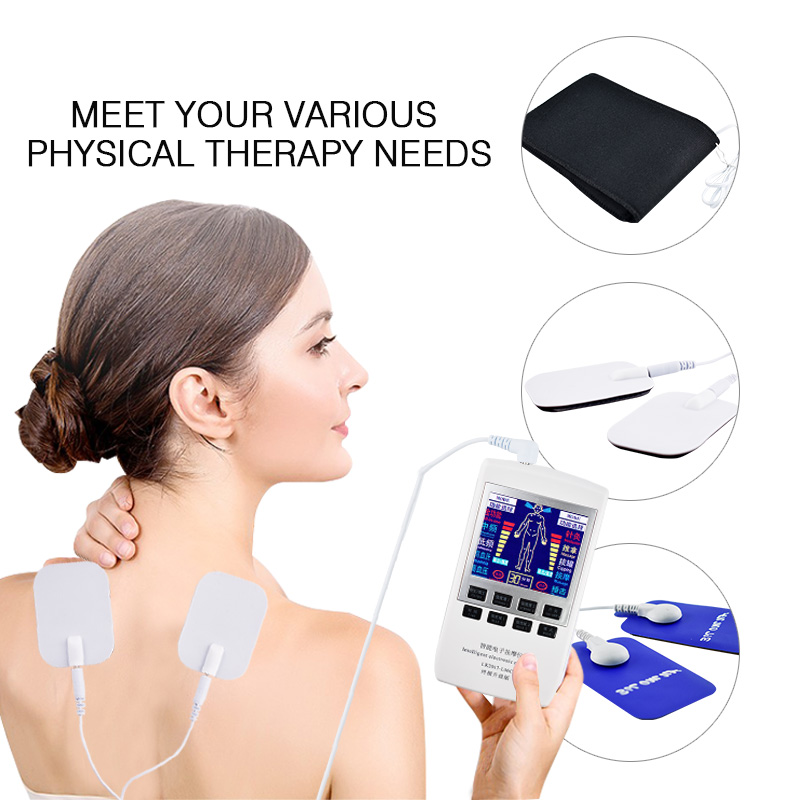 Electronic Pulse Therapy  Machine Digital Massager Massage Electrode Pad Acupuncture Pen Body Foot Massage Device Pain Relief acupunctural digital therapy machine electronic massager