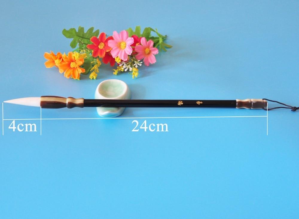 Купить с кэшбэком Wool hair Painting Brush Chinese Calligraphy Painting tool Stationery Watercolor Paint Supply brush