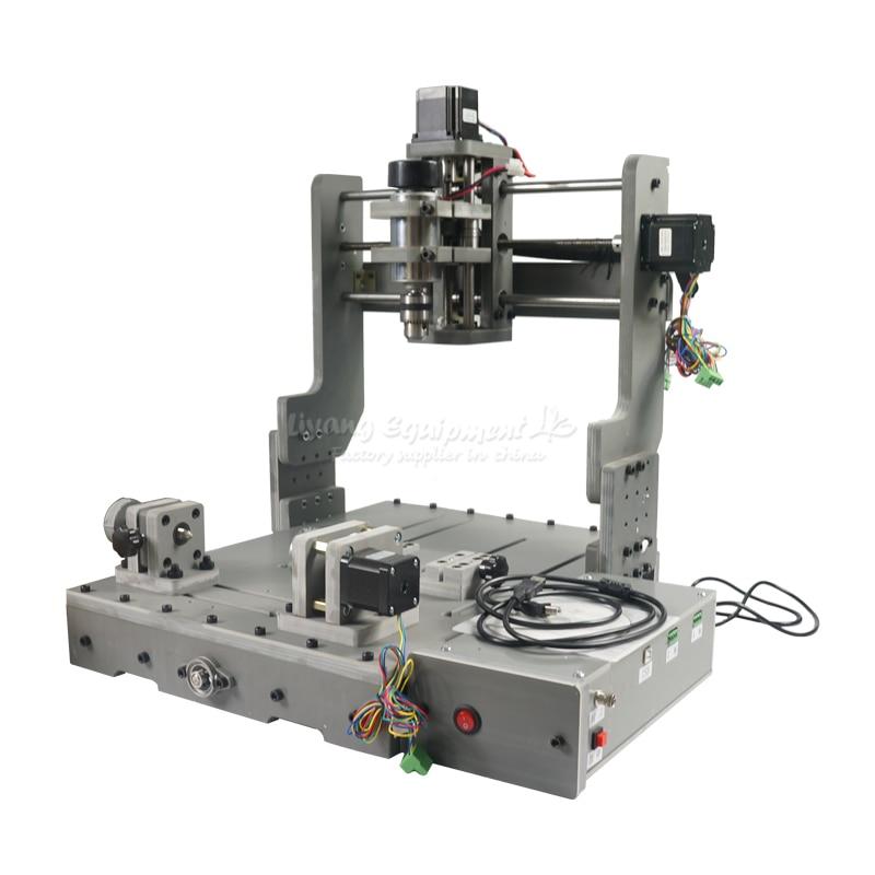 Engraving Drilling and Milling Machine with usb port cnc router 3040 4 aixs eru free tax 4pcs diy cnc router 2020 frame with motor engraving drilling and milling machine