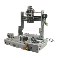 DIY CNC router PCB 3D rotary axis Engraving Drilling and Milling Machine with USB port Mini router 30X40cm