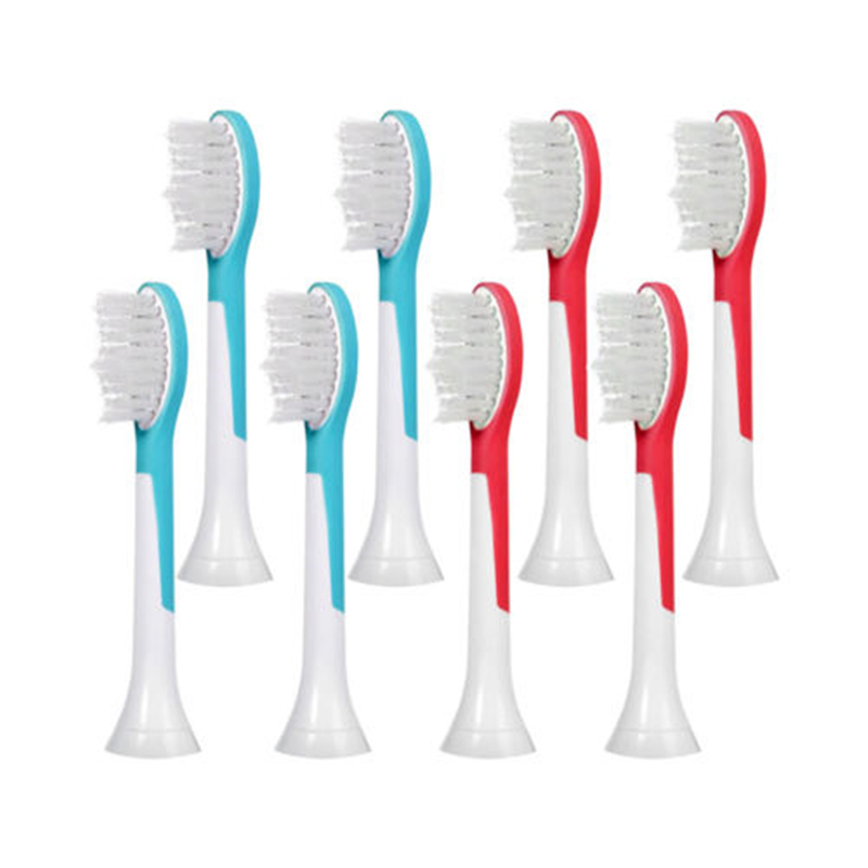 12pcs/3Pack Electric Toothbrush Heads For Philips Sonicare Kids HX6044 HX6042 RS910 R710 Children Replacement Tooth Brush Heads image