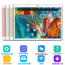 2019 New Hot 10 inch tablet PC Octa Core 4GB RAM 64GB ROM Dual SIM Unlocked 3G 4G LTE WiFi Bluetooth Android 7.0 Tablets 10.1