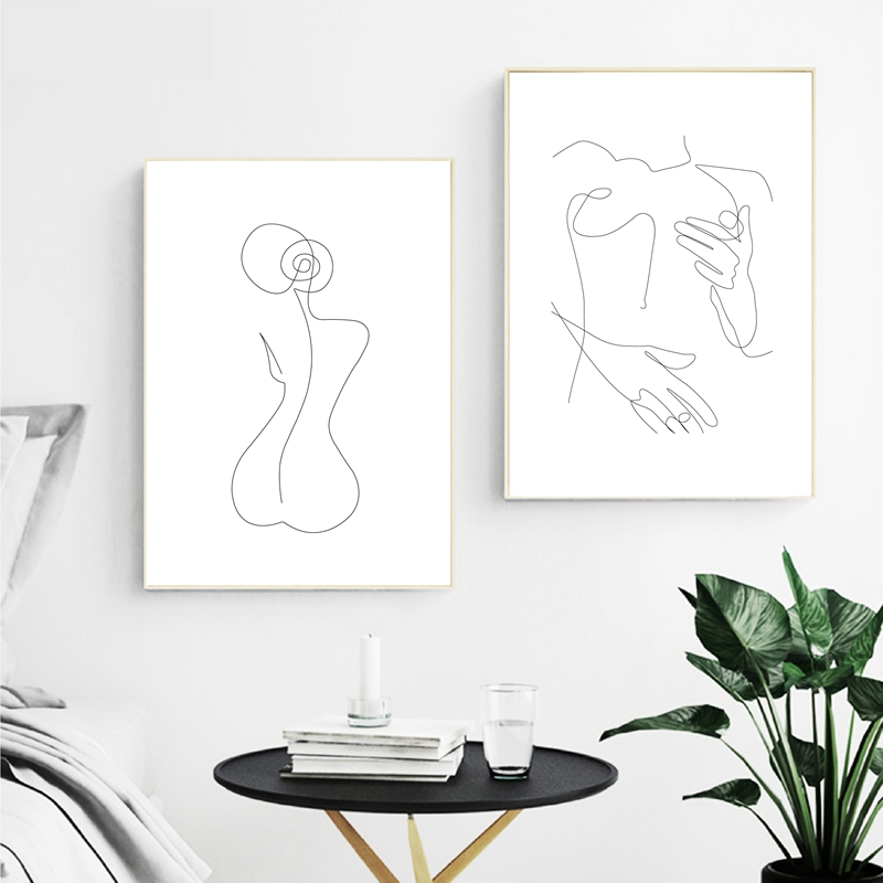 Feminine Figure Wall Art 10