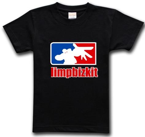 803d27300 SexeMara Limp Bizkit Print Logo 100% Cotton Custom Personalized Short  Sleeve Men T Shirt Tee Shirt