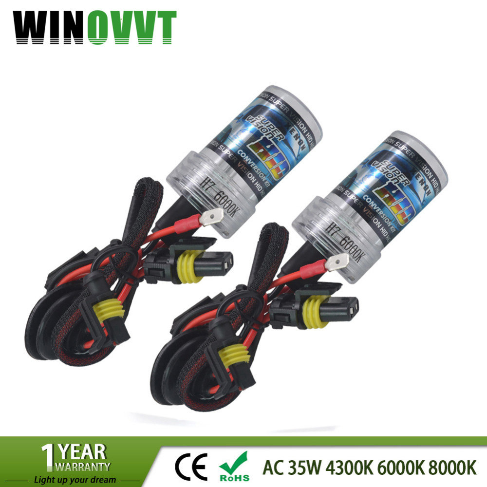 35W xenon H7 Hid Xenon font b Lamp b font H1 H3 H4 H7 H8 H9