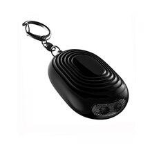 ETE 2pcs per pack 120db self defense alarm keychain Bag Decoration