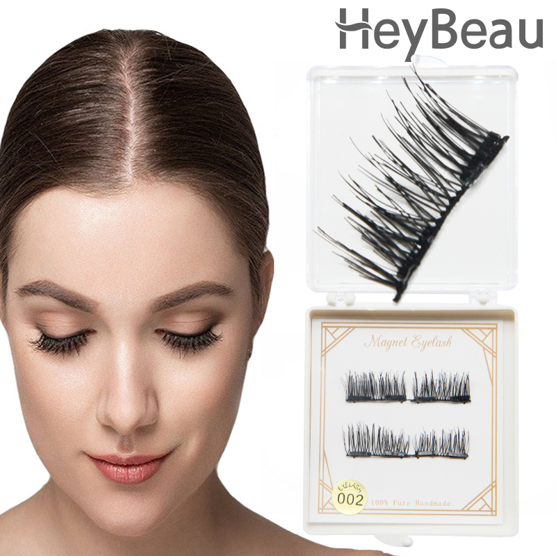 Beauty makeup 4d silk lashes mink Magnetic Eyelash 3d lash Eyelashes Magnet Soft Silk Eyelash Extension kit Mink Cilia maquiagem