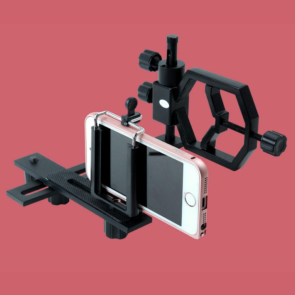 Hunting Tripod Head Holder Universal Smart Phone Camera Scope Mount Adaptor Bracket For Telescope Scope