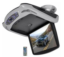 13.3-Inchhigh quality Roof Mount Monitor Multimedia System with Built-In DVD Player, USB/SD Readers and 3 Color Skins