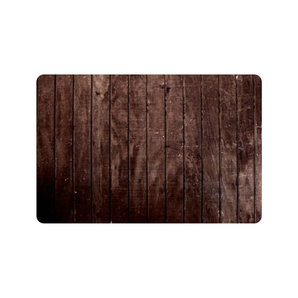 Flight Tracker Gepersonaliseerde Houten Panelen Decoratieve Vloer Deurmat Outdoor En Indoor (23.6x15.7 Inch)