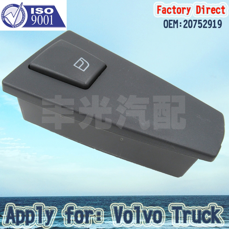 Factory Direct Auto Power Window Regulator Switch 20752919 Apply For Volvo Truck Spare Parts