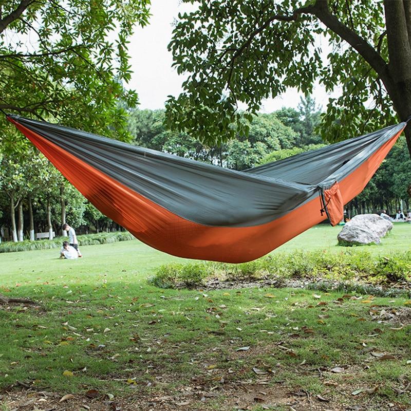 20 Color 2 People Portable Parachute Hammock Camping Survival Garden Hiking Hunting Leisure Hamac Travel Outdoor Hamak