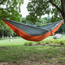 20 Color 2 People Portable Parachute Hammock Camping Survival Garden Hiking Hunting Leisure Hamac Travel outdoor Hamak все цены