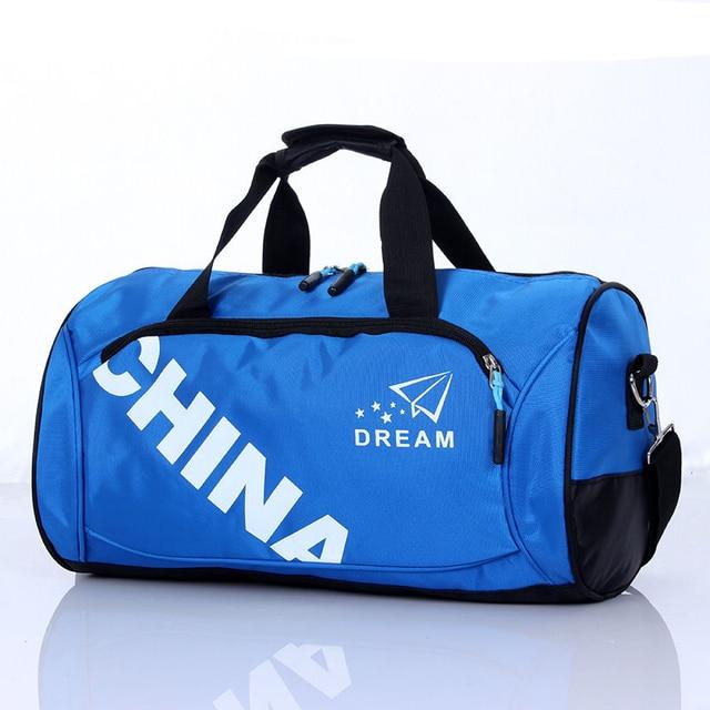 8853460316d9 Women and Men Sport Handbags Fitness Duffle Bag Portable Travel Shoulder Bag  Sport Training Bag Support