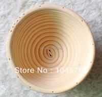 무료 배송 1X13 센치메터 라운드 빵 증명 바구니 교정 바구니 상승 바구니 Banneton Brotform