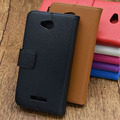 Caixa do telefone de couro de luxo case para htc 616 desire carteira vintage case para htc desire 616 portadores de cartão de flip case tampa do suporte magnético