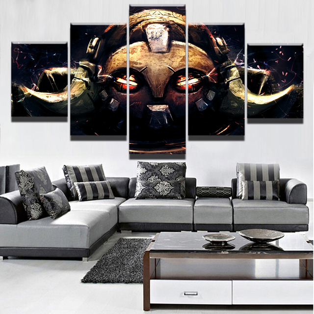 5 Pieces Game Poster Wall Art Orisa Overwatch Picture Modern Home Decoration Living Room Or Bedroom Canvas Printed Painting