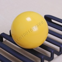 New Round Sanwa Ball Top Handle For Arcade Sanwa Joystick & Arcade Bundle Classic Video Games & Raspberry Pi 7 Color – Yellow