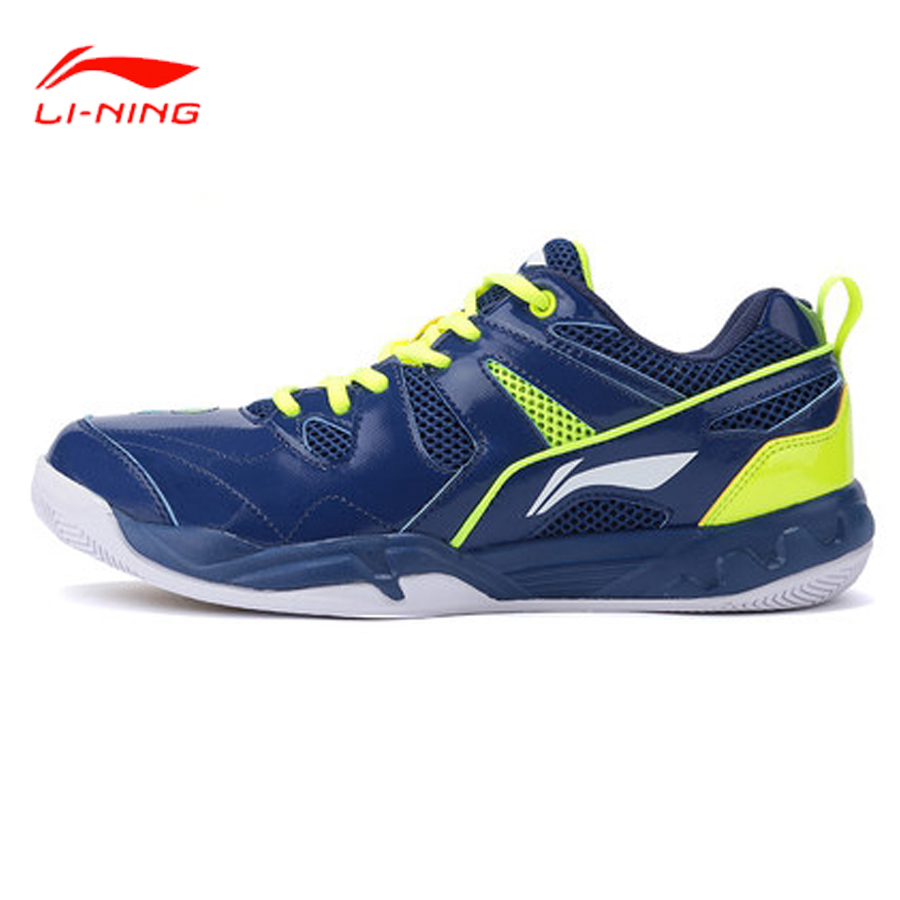 Li Ning 2017 New Men Badminton Shoes Men Professional Shoes Cushioning Breathable  Training Wear Resistant AYTM069-in Badminton Shoes from Sports & Entertainment