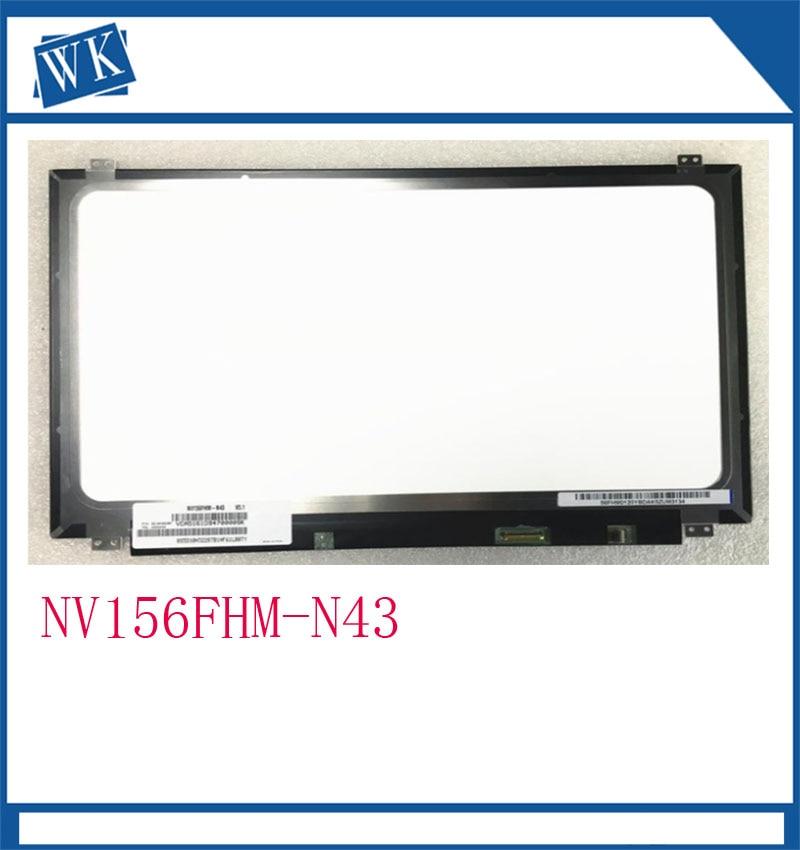 Free Shipping NV156FHM N43 NV156FHM-N43 LTN156HL01 LP156WF6-SPB1 72% NTSC High Gamut IPS LCD Screen 1920*1080 EDP 30pinFree Shipping NV156FHM N43 NV156FHM-N43 LTN156HL01 LP156WF6-SPB1 72% NTSC High Gamut IPS LCD Screen 1920*1080 EDP 30pin
