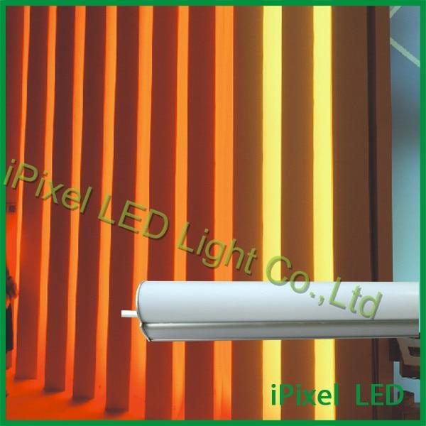 IP65 Led Full Rgb Color Dmx 24v Digital Tube/3D Video Tube Light