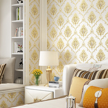 carta da parati European Floral Wall Papers Home Decor Damask Wall Paper Roll for Living Room Bedroom Walls Mural contact paper стоимость