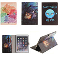 TX Cute Popular Pattern PU Leather Case With Card Slots For Apple iPad Air 2 Case Folio Stand Protector Skin For iPad Air2 Cover