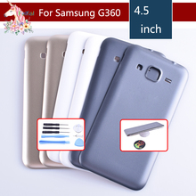 For Samsung Galaxy Core Prime G360 G360H G360F Housing Battery Cover Door Rear Chassis Back Case Replacement