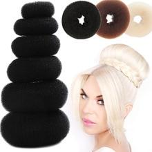 Hair Donut Bun Maker Magic Foam Sponge Easy Big Ring Updo DIY Hair